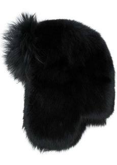 Yves Saint Laurent fur yeti hat