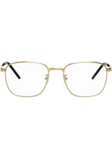 Yves Saint Laurent Gold SL 352 Slim Glasses