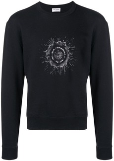 Yves Saint Laurent graphic print sweatshirt
