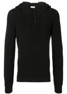 Yves Saint Laurent hooded jumper