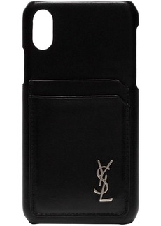 Yves Saint Laurent iPhone 10 leather case