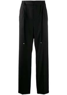 Yves Saint Laurent belted tailored trousers