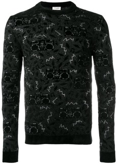 Yves Saint Laurent knit jacquard jumper