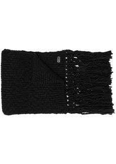 Yves Saint Laurent knitted scarf