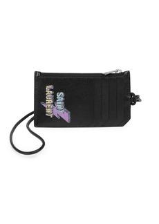 Yves Saint Laurent Leather Card Case