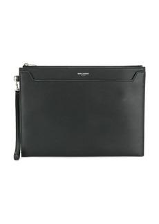 Yves Saint Laurent leather tablet pouch