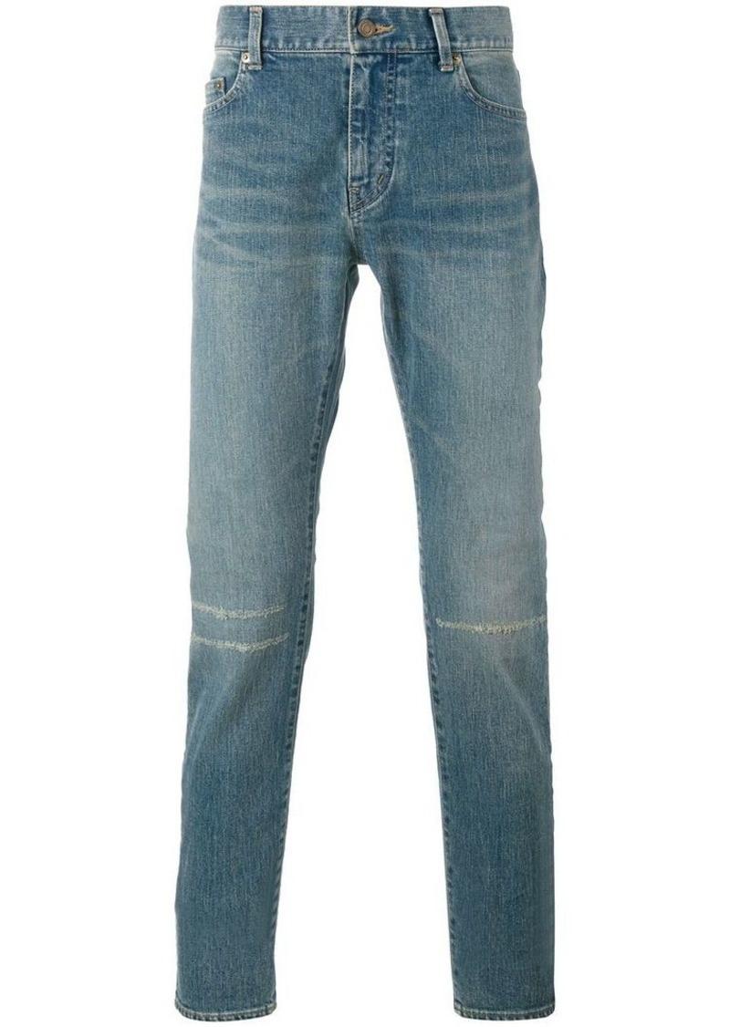 155ae092a4 Light Blue D2 Distressed Slim Jeans