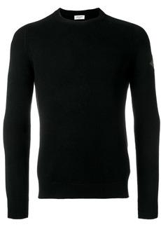 Yves Saint Laurent logo patch cashmere jumper