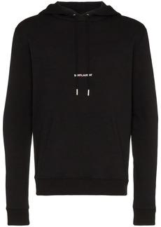 Yves Saint Laurent logo print hoodie
