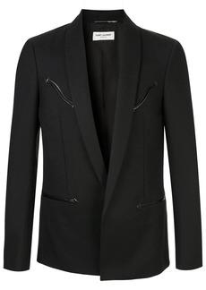 Yves Saint Laurent long blazer