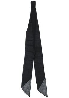 Yves Saint Laurent loose neck tie