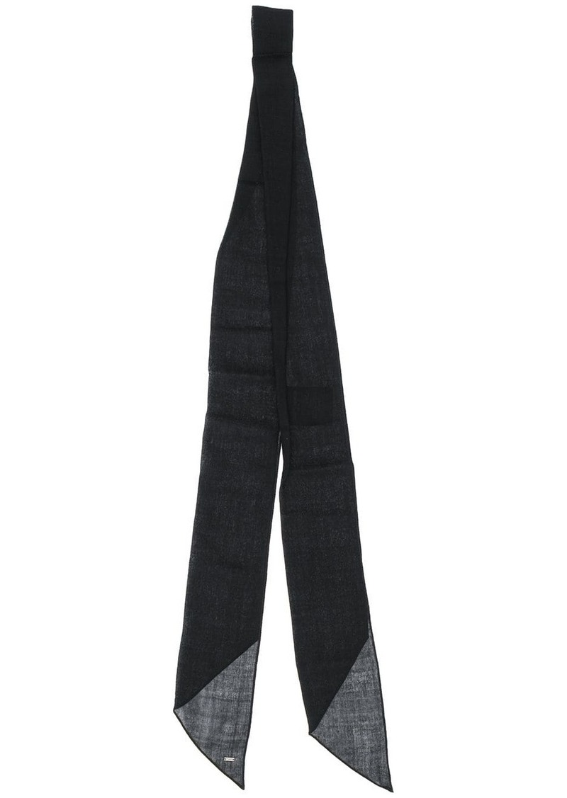 Yves Saint Laurent loose neck tie