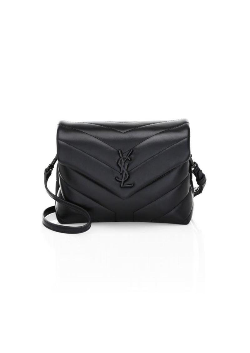 774c9d40c230 Saint Laurent Lou Lou Leather Toy Crossbody Bag