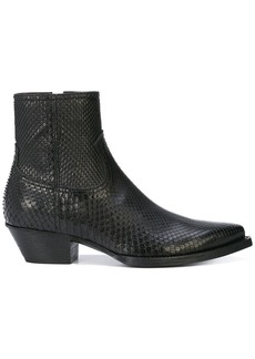 Yves Saint Laurent Lukas boots