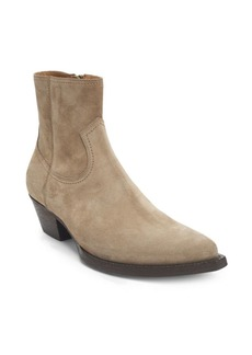 Yves Saint Laurent Lukas Suede Ankle Boots