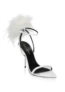 Saint Laurent Mansour High Heel Sandal