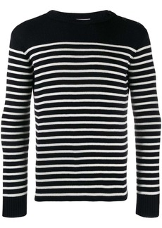 Yves Saint Laurent marinère striped knitted jumper