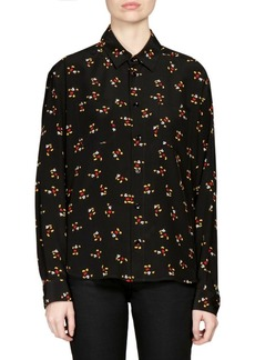 Yves Saint Laurent Mickey Mouse Blouse