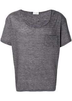 Yves Saint Laurent micro-stripe T-shirt