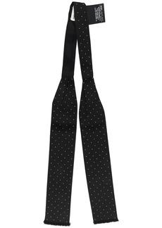 Yves Saint Laurent micro studded lavallière scarf