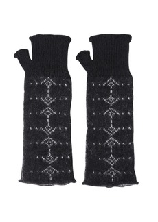 Yves Saint Laurent Mohair & Wool Gloves