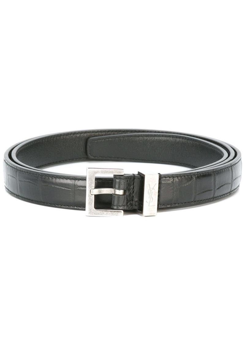 dc9357ac83 Monogram passant buckle belt