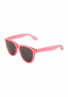 Yves Saint Laurent Neon Square Acetate Sunglasses