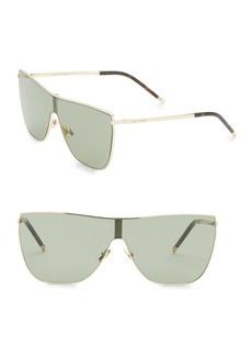 Yves Saint Laurent New Wave 99MM Shield Sunglasses