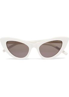 Yves Saint Laurent New Wave Lily cat-eye acetate sunglasses