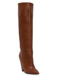 Saint Laurent Niki Tall Leather Boots
