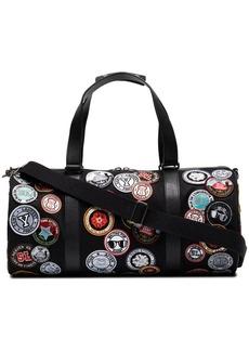 Yves Saint Laurent Noe multi patch duffle bag