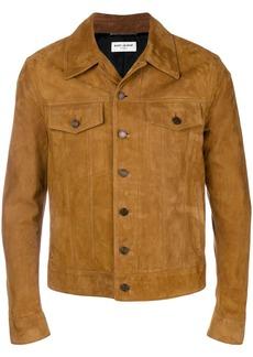 Yves Saint Laurent nubuck leather jacket