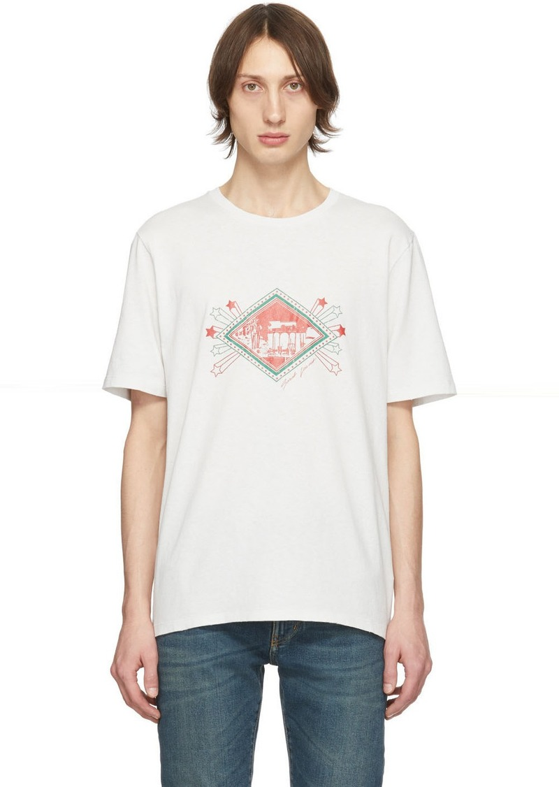 Yves Saint Laurent Off-White Jardin Majorelle T-Shirt