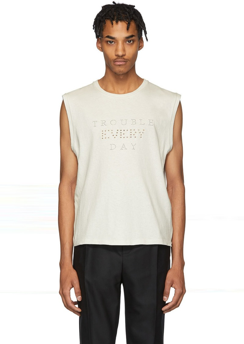 Yves Saint Laurent Off-White 'Trouble Every Day' T-Shirt