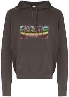 Yves Saint Laurent Palm tree-print hoodie