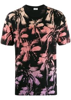 Yves Saint Laurent palm tree print T-shirt