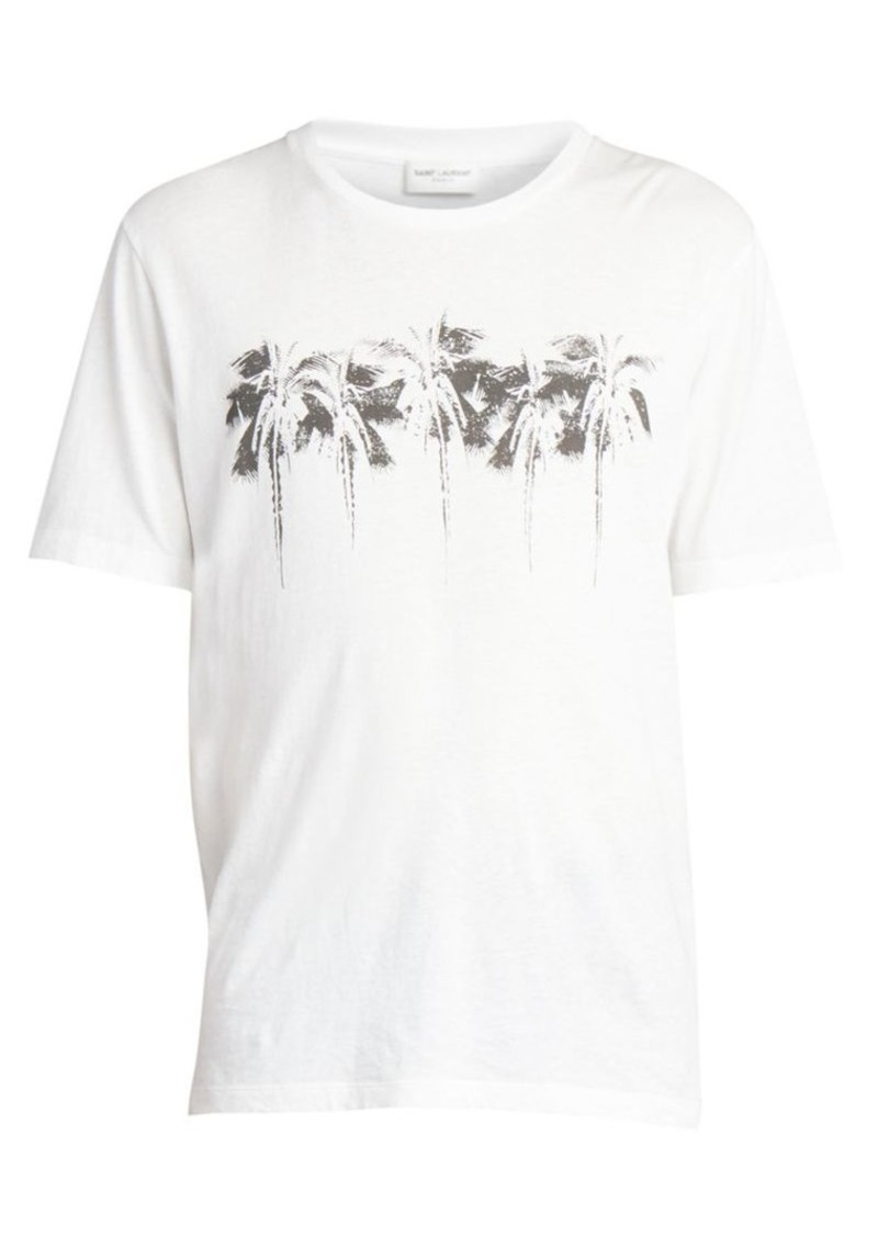 Yves Saint Laurent Palms Graphic Tee
