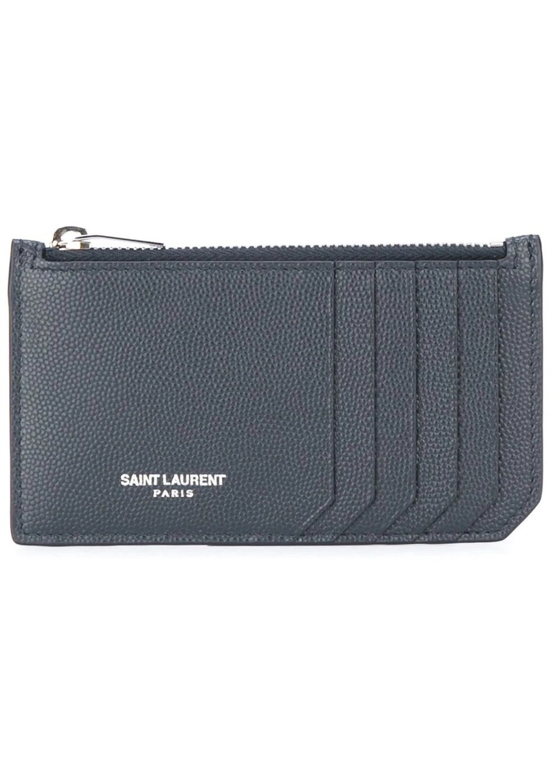 Yves Saint Laurent Paris 5 Fragments zip pouch