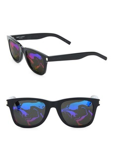 Yves Saint Laurent Patterned Tinted Sunglasses