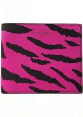 Yves Saint Laurent Pink & Black Zebra East/West Wallet