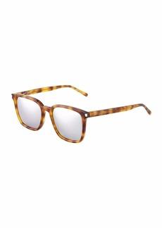 Yves Saint Laurent Plastic Square Havana Optical Glasses