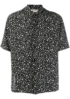 Yves Saint Laurent polka dot print shirt