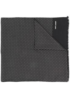 Yves Saint Laurent polka dot scarf