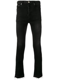 Yves Saint Laurent raw edge skinny jeans