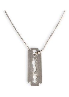Yves Saint Laurent Razor Blade Chain Necklace