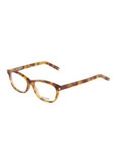 Yves Saint Laurent Rectangle Tortoiseshell Acetate Optical Glasses