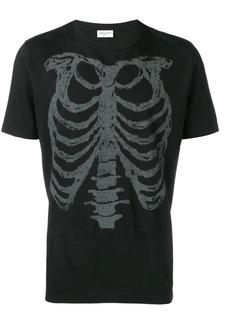 Yves Saint Laurent rib cage printed T-shirt