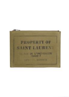 Yves Saint Laurent Rider Cotton iPad Case