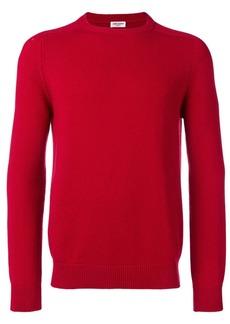 Yves Saint Laurent round neck cashmere jumper