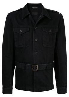Yves Saint Laurent Saharienne denim jacket